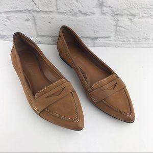 Franco Sarto Leather Flats ♥️